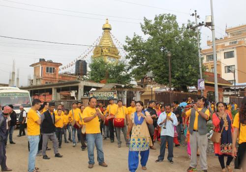 गुँला पर्ब/गुँला धर्म(1 month long Festival of Newar Community) !!!