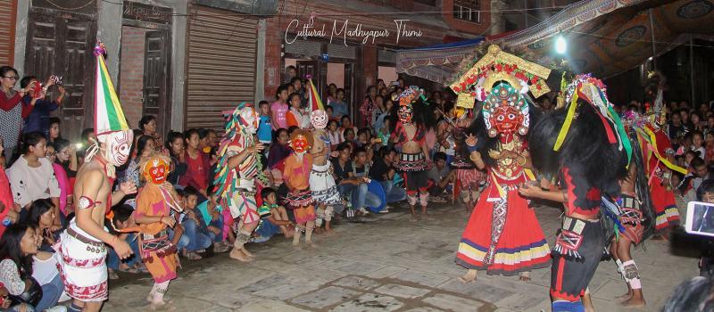 मध्यपुर थिमीको महाकाली नाच सानो परिचय